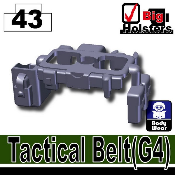 Dark Blue Gray_Tactical Belt(G4)
