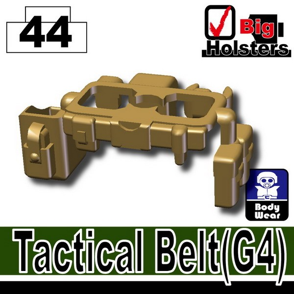 Dark Tan-2_Tactical Belt(G4)