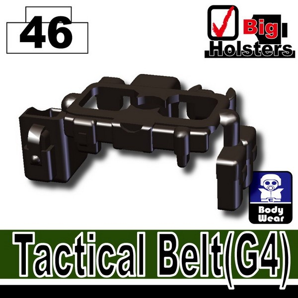 Pearl Dark Black_Tactical Belt(G4)