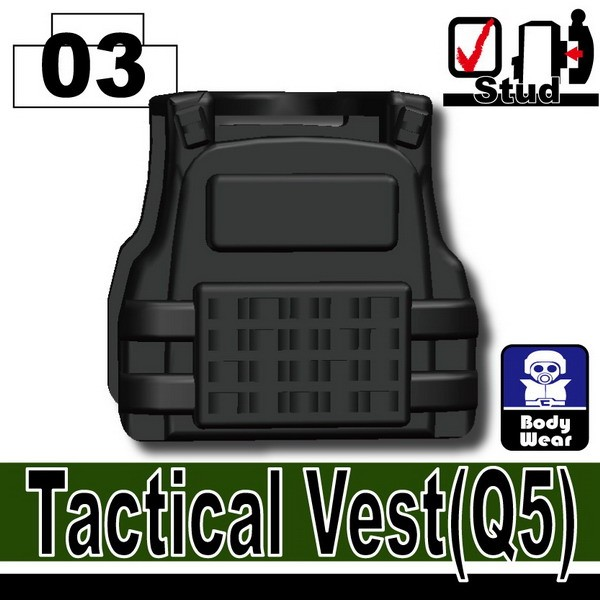 Black_Tactical Vest(Q5)