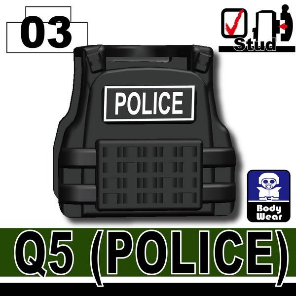 Black_Tactical Vest(Q5-POLICE)