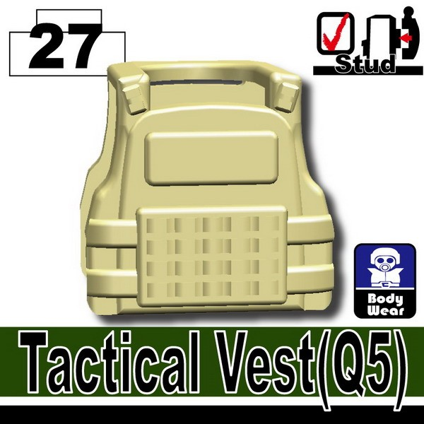 Tan_Tactical Vest(Q5)