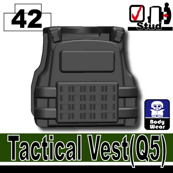 Iron Black_Tactical Vest(Q5)