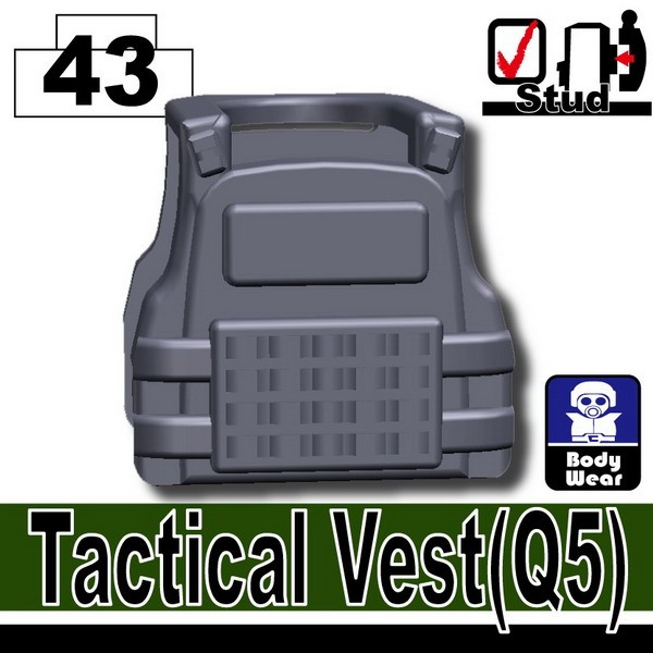 Dark Blue Gray_Tactical Vest(Q5)