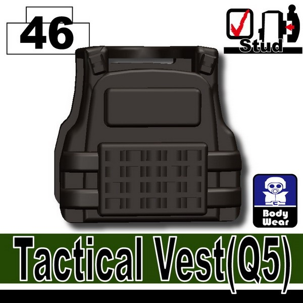 Pearl Dark Black_Tactical Vest(Q5)