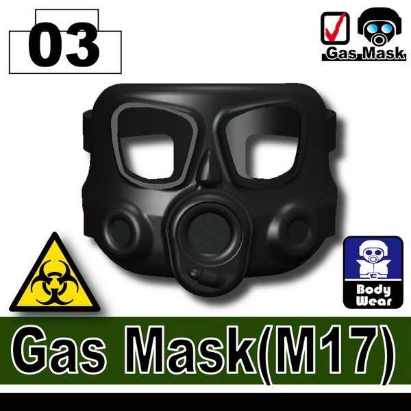Black_Gas Mask(M17)