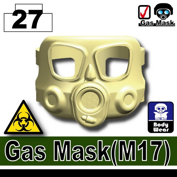Tan_Gas Mask(M17)
