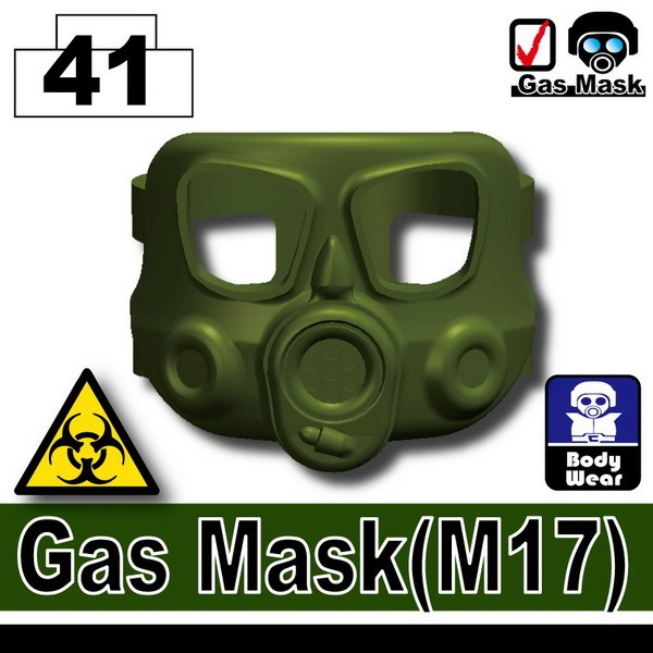 Tank Green_Gas Mask(M17)
