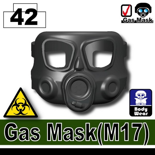 Iron Black_Gas Mask(M17)