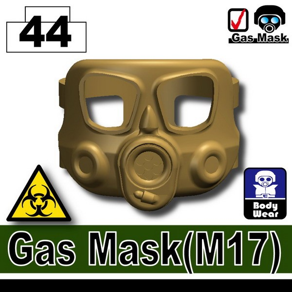 Dark Tan-2_Gas Mask(M17)