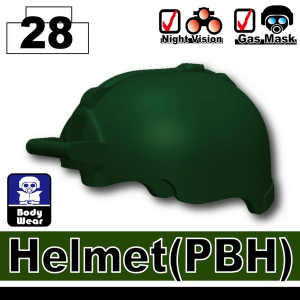 Dark Green_Helmet(PBH)