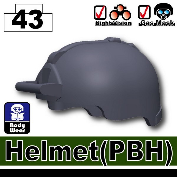 Dark Blue Gray_Helmet(PBH)