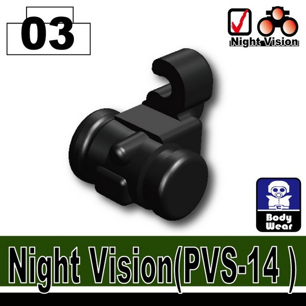 Black_Night Vision(PVS-14)