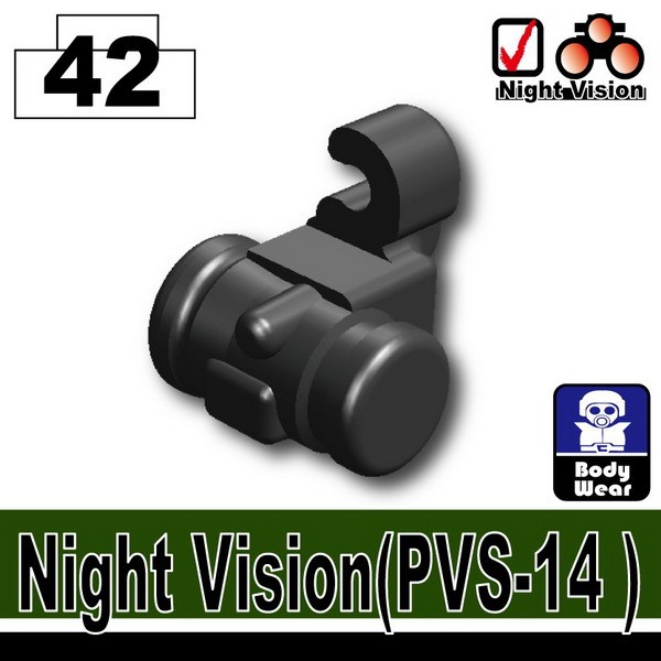 Iron Black_Night Vision(PVS-14)