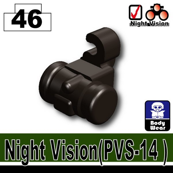 Pearl Dark Black_Night Vision(PVS-14)