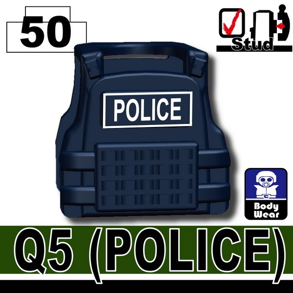 Dark Blue_Tactical Vest(Q5-POLICE)