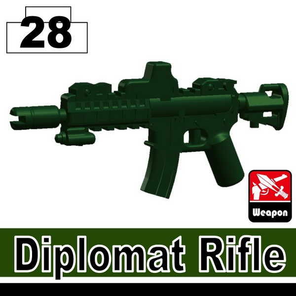 Dark Green_Diplomat Rifle