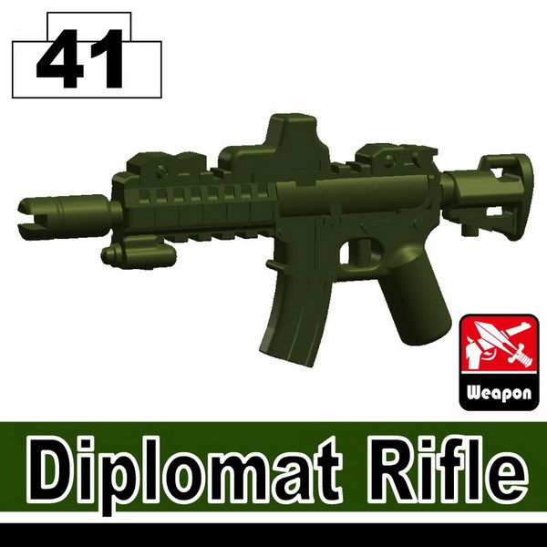 Tank Green_Diplomat Rifle