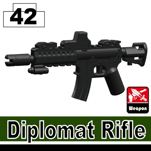 Iron Black_Diplomat Rifle