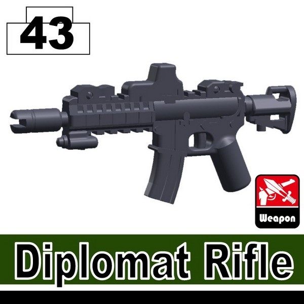 Dark Blue Gray_Diplomat Rifle