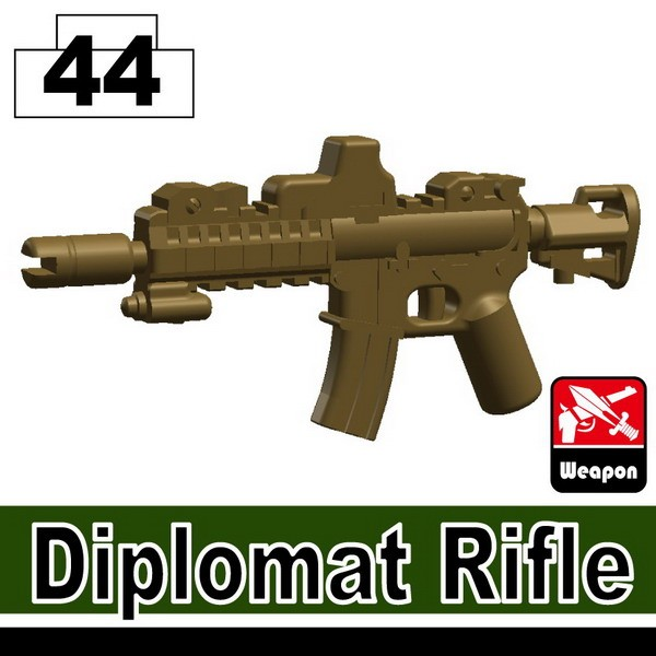 Dark Tan-2_Diplomat Rifle
