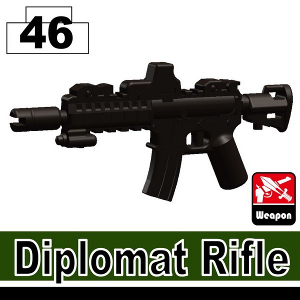 Pearl Dark Black_Diplomat Rifle