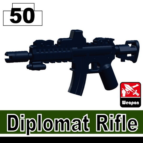 Dark Blue_Diplomat Rifle