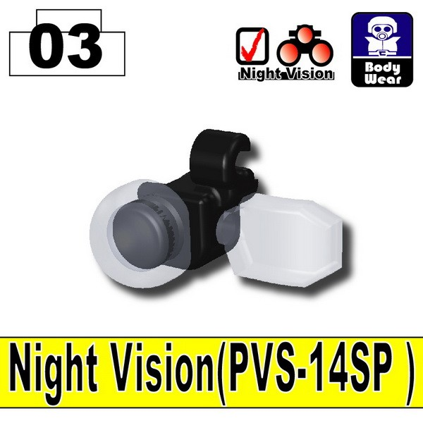 Black_Night Vision(PVS-14SP)