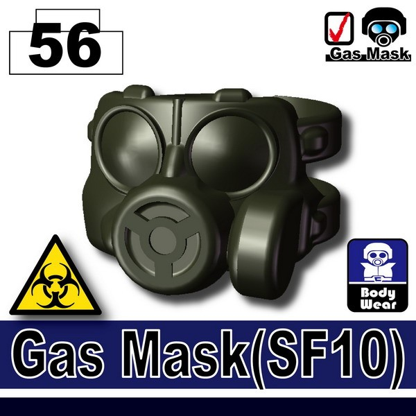 (56)Deep Gray Green_GasMask(SF10)