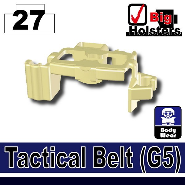 Tan_Tactical Belt(G5)