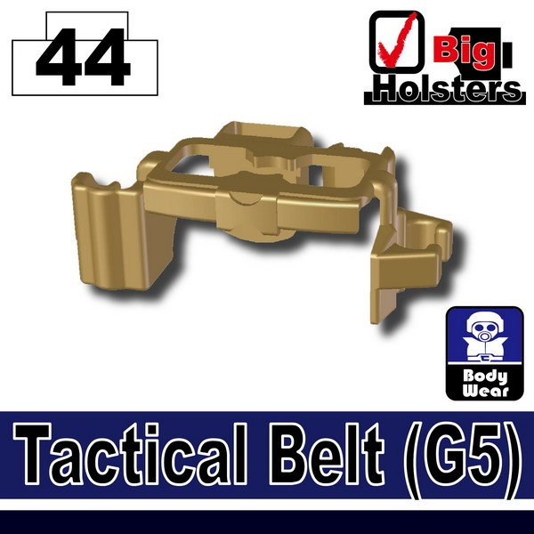 Dark Tan-2_Tactical Belt(G5)