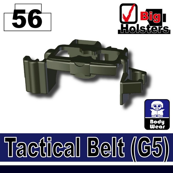 (56)Deep Gray Green_Tactical Belt(G5)