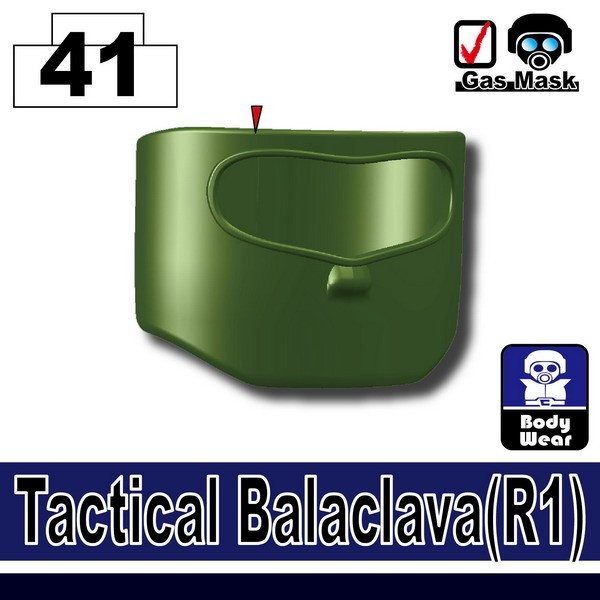 Tank Green_Tactical Balaclava(R1)