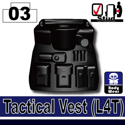 Black_Tactical Vest(L4T)