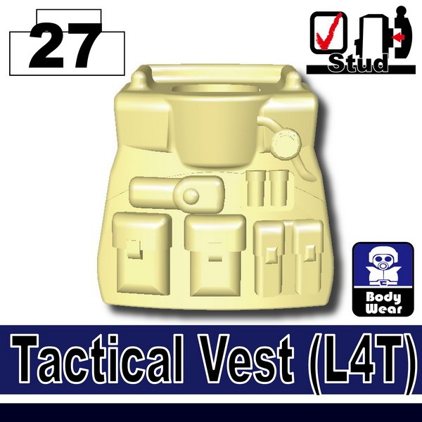 Tan_Tactical Vest(L4T)