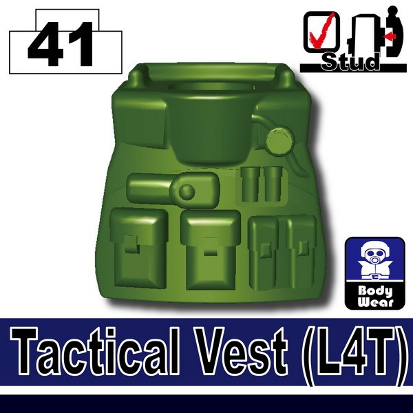 Tank Green_Tactical Vest(L4T)