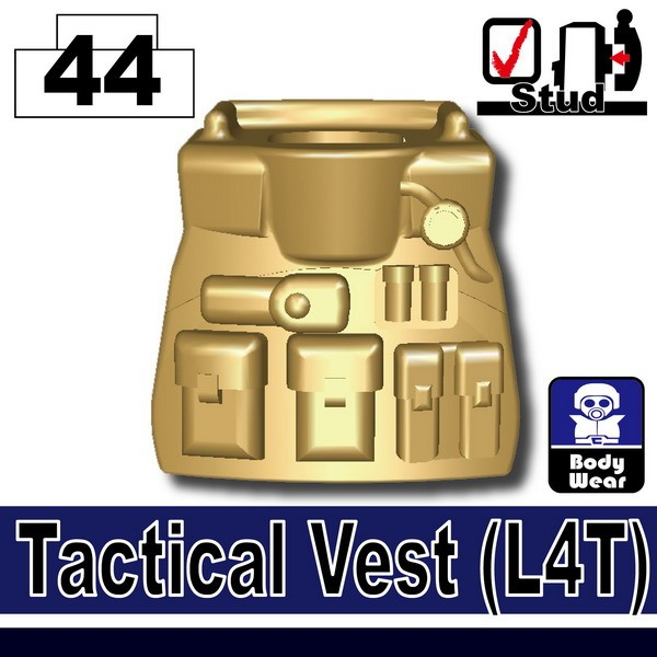 Dark Tan-2_Tactical Vest(L4T)