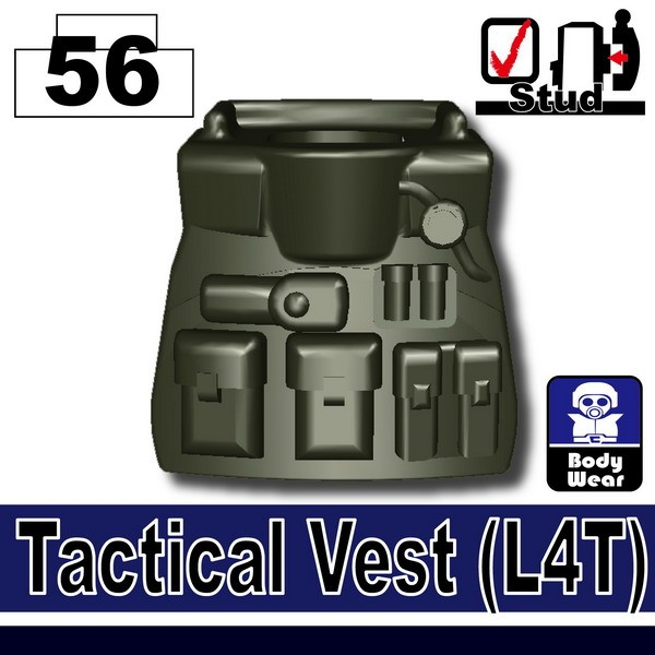 (56)Deep Gray Green_Tactical Vest(L4T)