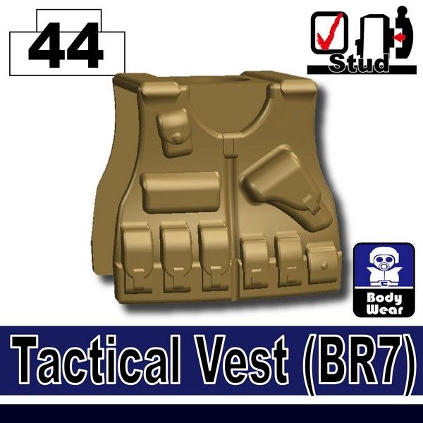 Dark Tan-2_Tactical Vest(BR7)