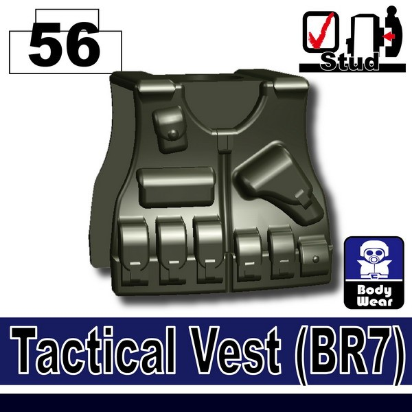(56)Deep Gray Green_Tactical Vest(BR7)