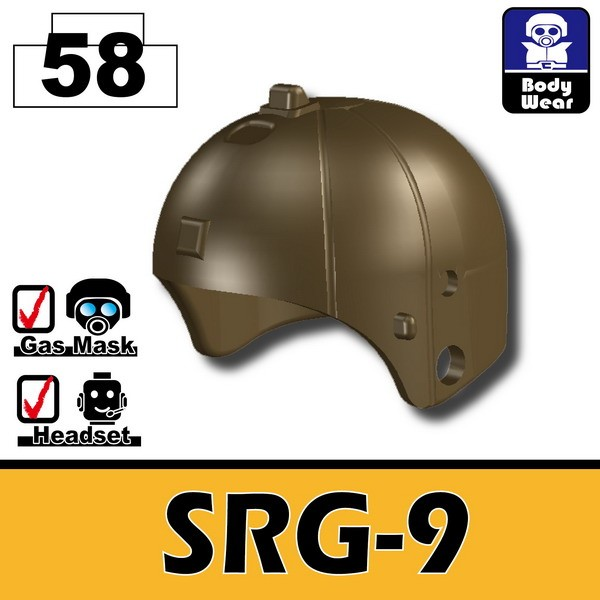 Deep Bronze Brown(58)_Helmet(SRG-9)