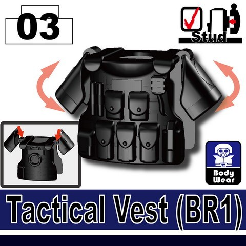 Black_Tactical Vest(BR1)