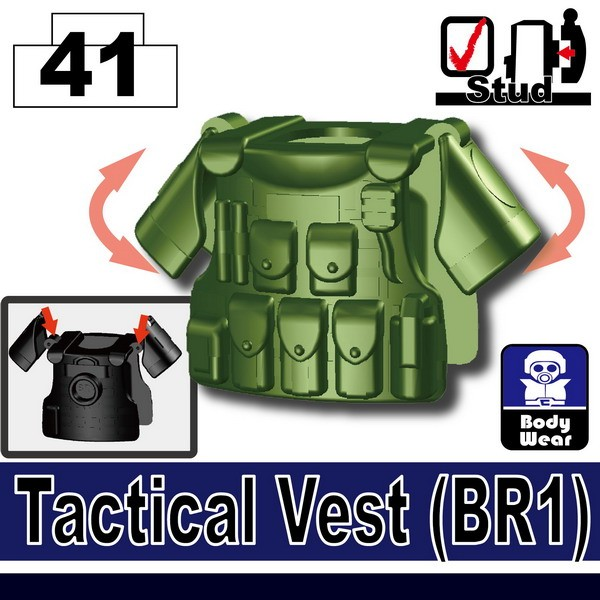 Tank Green_Tactical Vest(BR1)
