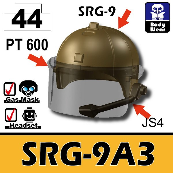 Dark Tan-2_Helmet(SRG-9A3)