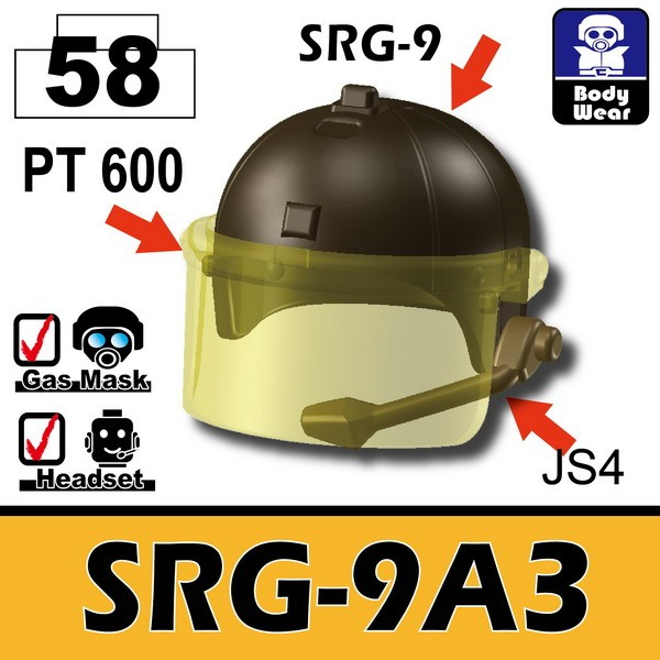 Deep Bronze Brown(58)_Helmet(SRG-9A3)