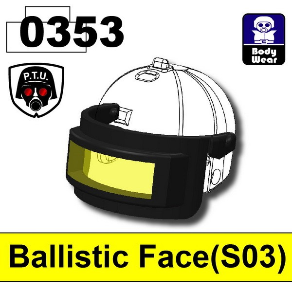 Black0353_Ballistic Face(S03)