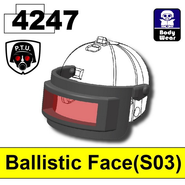 Iron Black4247_Ballistic Face(S03)