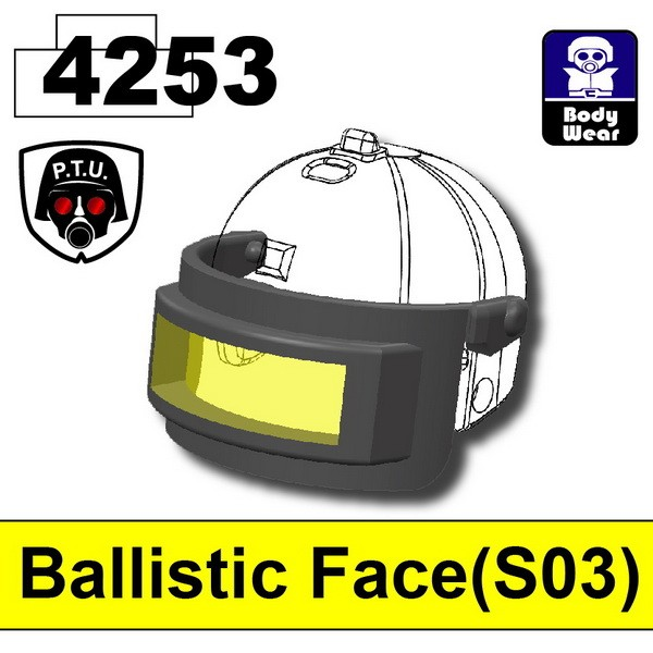 Iron Black4253_Ballistic Face(S03)