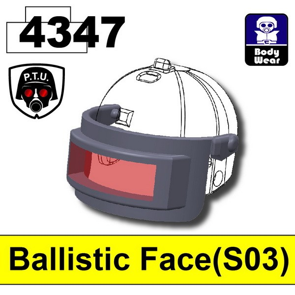 Dark Blue Gray4347_Ballistic Face(S03)