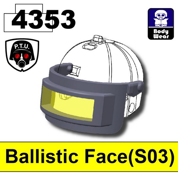Dark Blue Gray4353_Ballistic Face(S03)